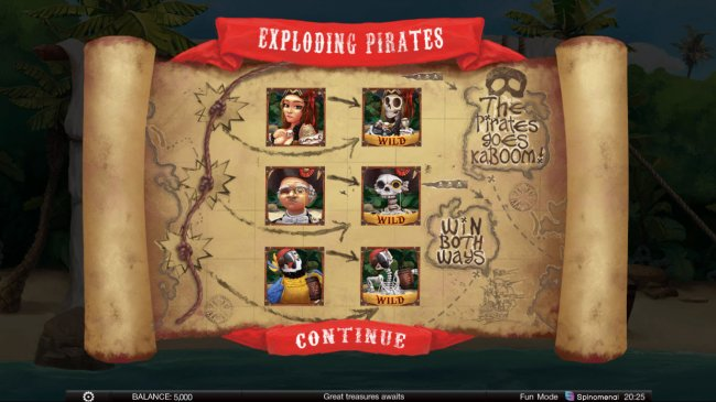 Exploding Pirates by Free Slots 247