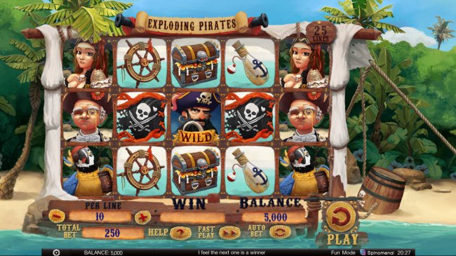 Images of Exploding Pirates