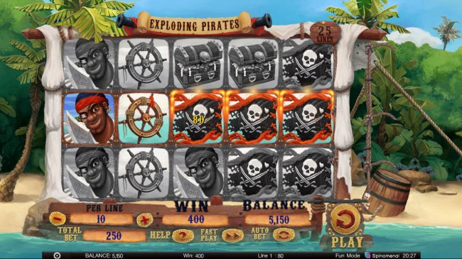 Free Slots 247 image of Exploding Pirates
