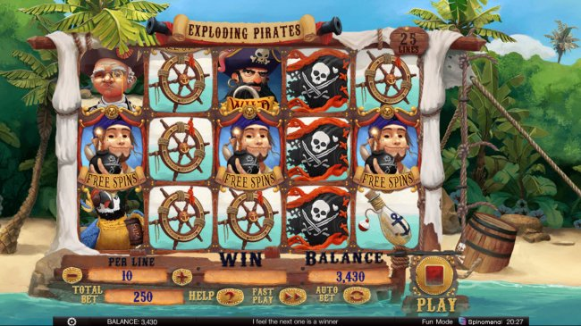 Exploding Pirates screenshot