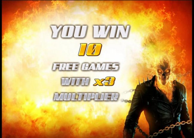 10 free games awarded with a x3 multiplier - Free Slots 247
