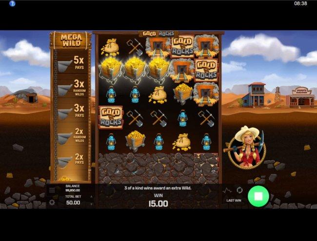 Gold N Rocks screenshot