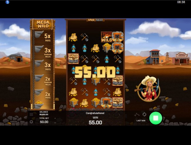 Reels expand with each winning combination by Free Slots 247