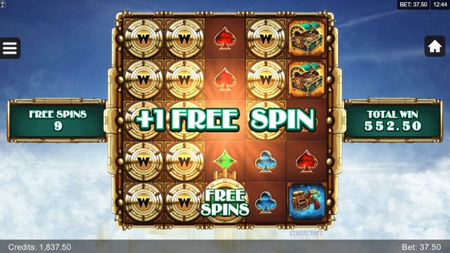 Free Slots 247 - An additional free spin awarded