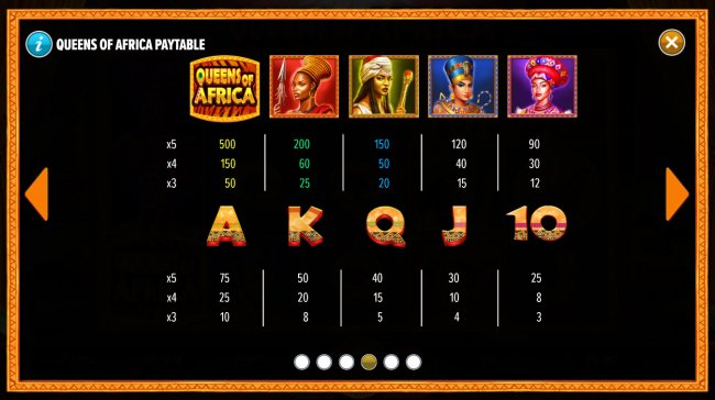 Queens of Africa by Free Slots 247
