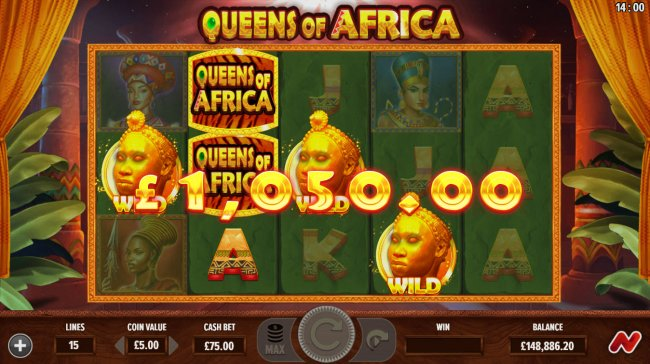 Free Slots 247 image of Queens of Africa