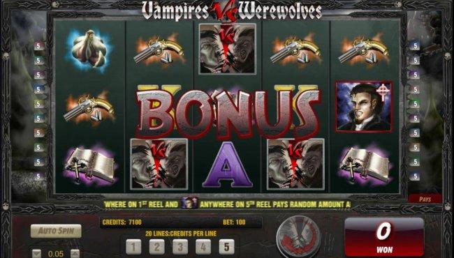 Vampires vs Werewolves screenshot