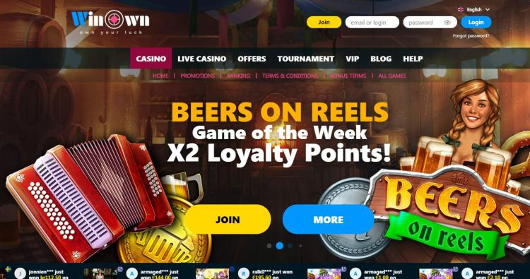 Win Own Casino